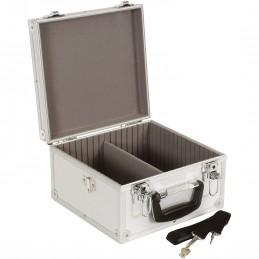 Coffret, boite de rangement pour 40 CD, Dimensions 280 x 268 x 160 mm