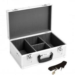 Coffret, boite de rangement pour 60 CD, Dimensions 424 x 265 x 173 mm