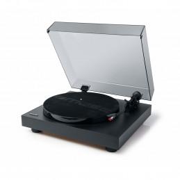 Platine vinyles Muse MT-105 B avec Fonction d'arrêt Automatique et Adaptateur d'enregistrement 45 TR/Min Noir