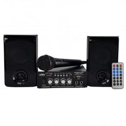 Kit Karaoké Party Sound & Light PARTY-KA100, USB SD et Bluetooth