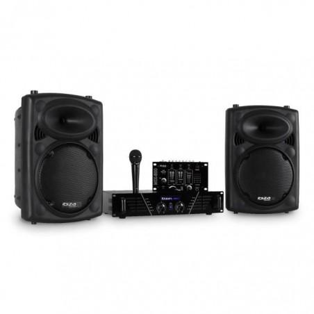 Ibiza DJ300MKII complete sound kit Black