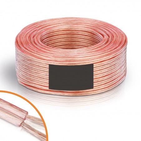 Câble enceinte / hp 2 x 1,5 mm² 25m CB-8825