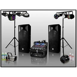 PA DJ Pack 1600 W with...