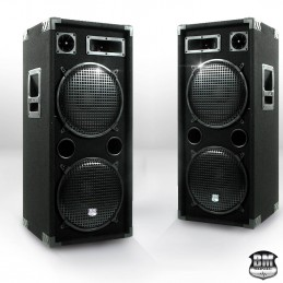 Pair of speakers 2 x 600W...
