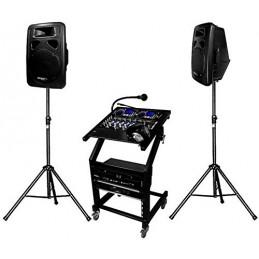 Pack complete PA DJ DJ-1000...