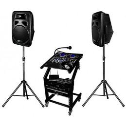Pack complete PA DJ DJ-1400...